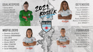 Chicago Red Stars Announce 2021 NWSL Roster