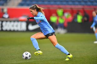 Katie Johnson scores as Chicago draws level with Kansas City 1-1