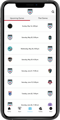 Red Stars Schedule - iOS - Space Gray.pn