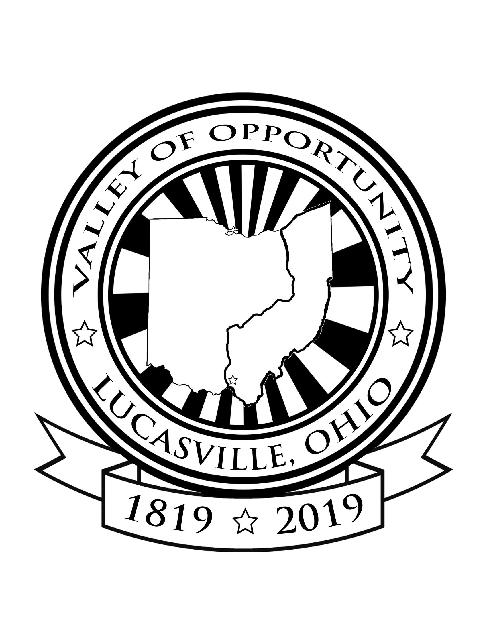 Lucasville Bicentennial Logo 2