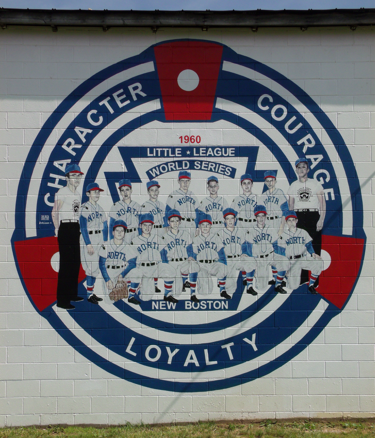 New Boston 1960 Little League World Series Mural