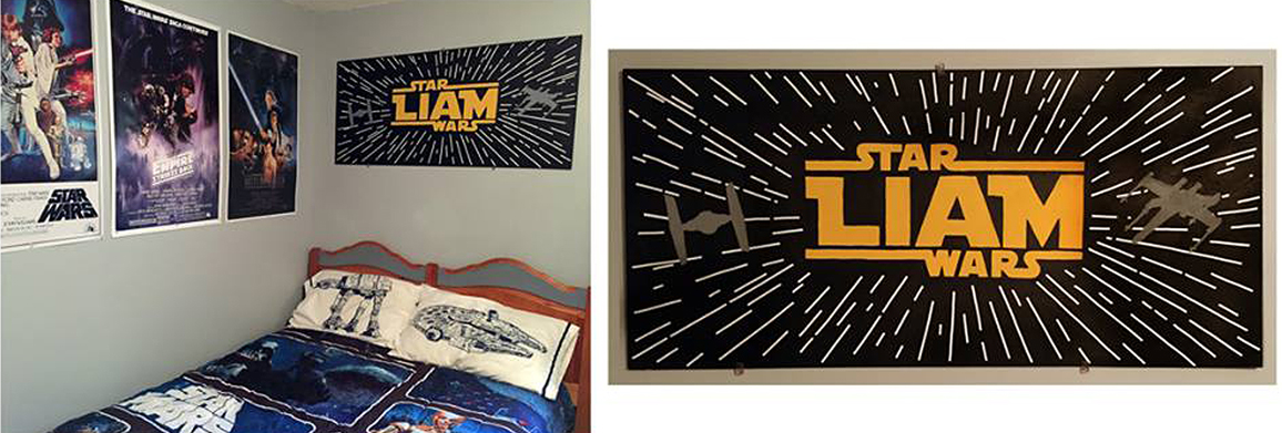 Star Wars Personalized