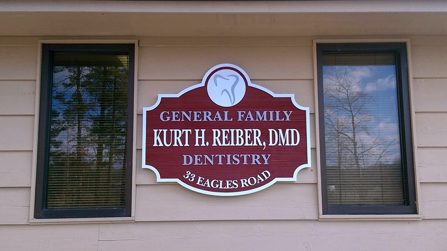 Dr. Reiber DMD Dentistry Sign Design