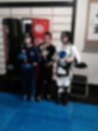 Taekwondo Fighting competition winners