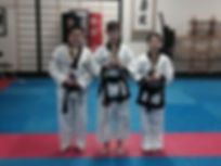 KBT Marial Arts Bexleyheath Black Belt Competition Winners
