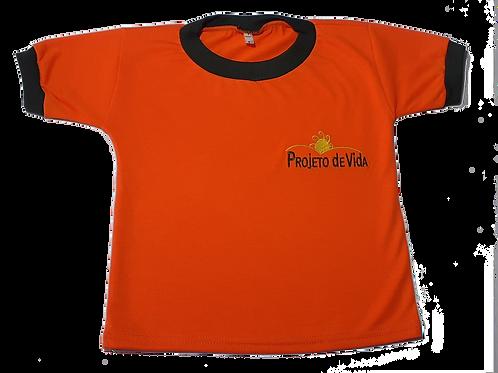 Camiseta Manga Curta Projeto de Vida