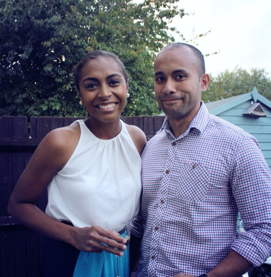 Fijian In the UK - With my husband in Colchester, Essex