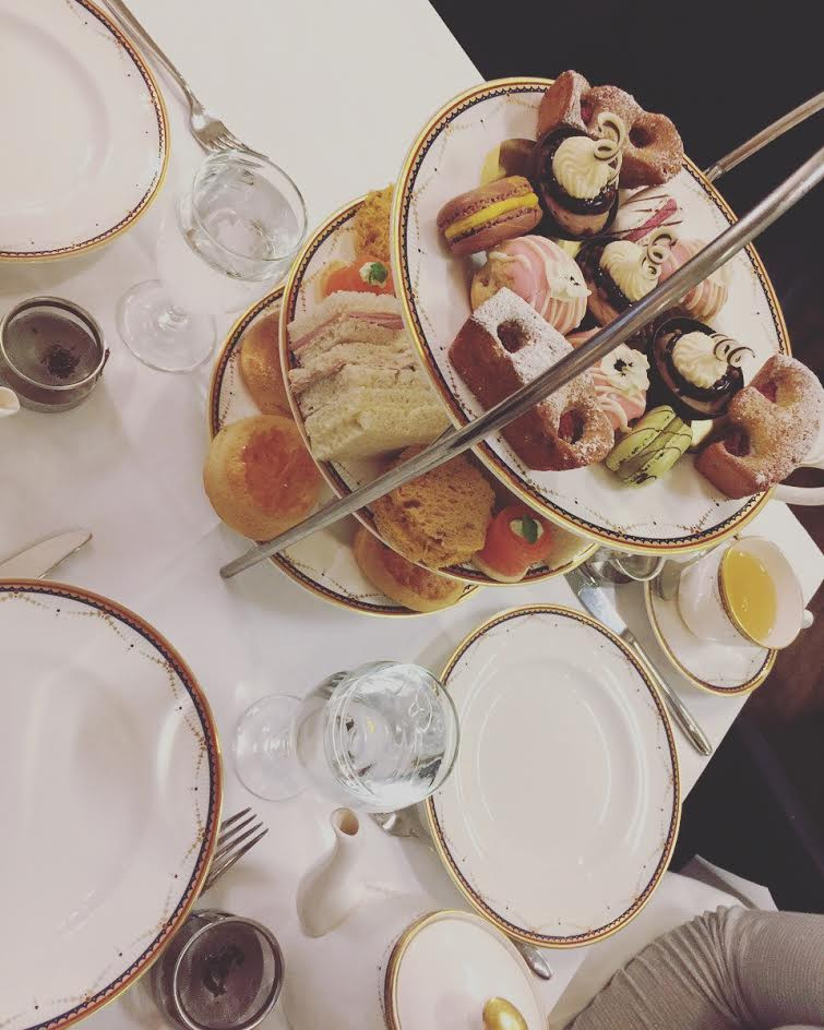 Fijian In The UK - Afternoon Tea at the Waldorf, London