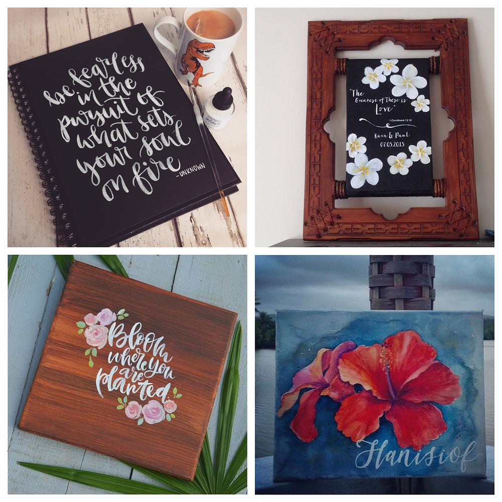 FJWOW - Alamanda Datt's artistic merchandise