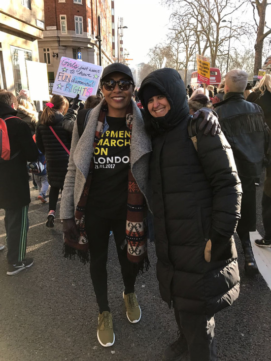 Fijian In The UK - Womens March London Jan 2017