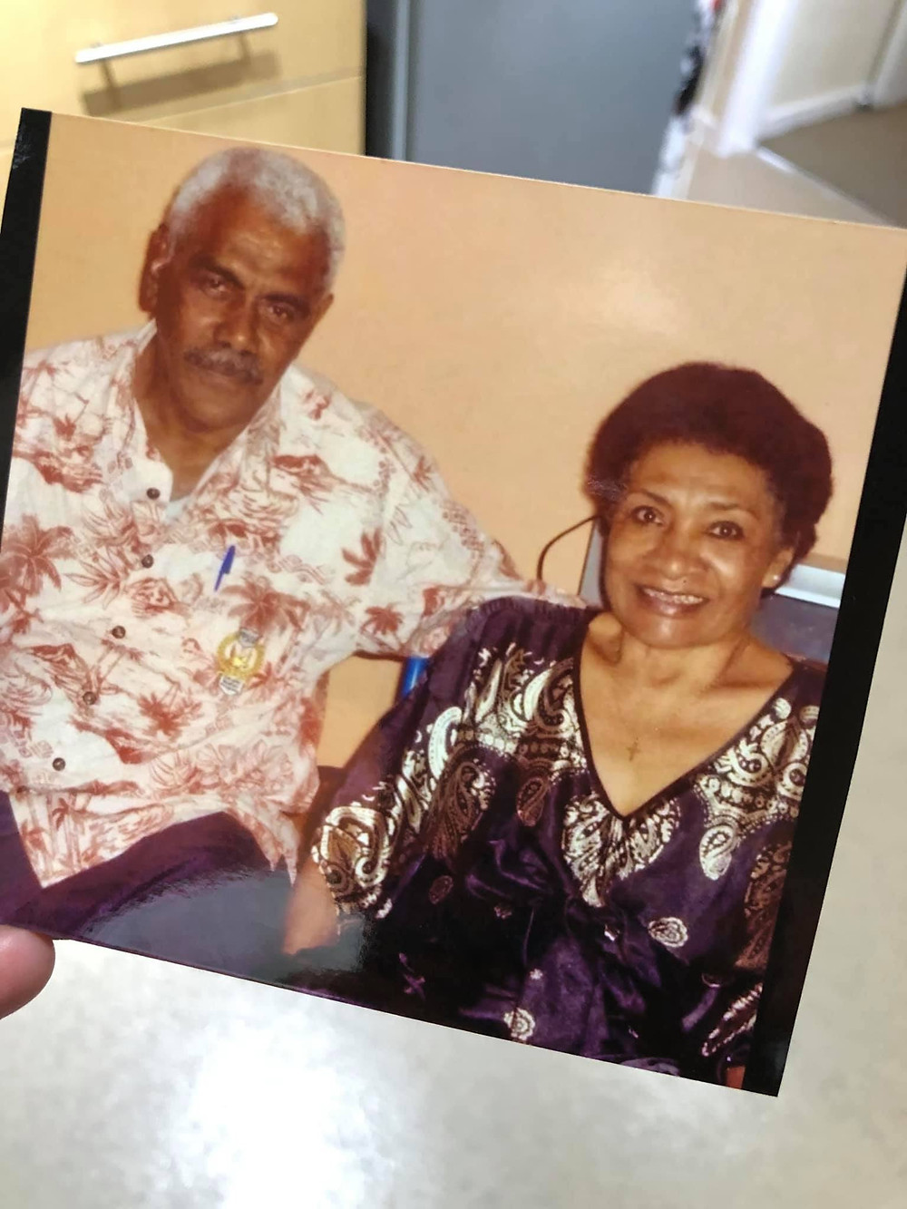 Fijian In The UK - My parents on their 40th anniversary