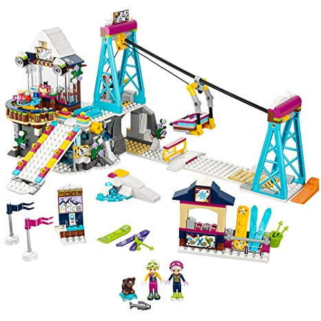 Fijian In The UK - LEGO Friends Snow Resort & Ski Lift set