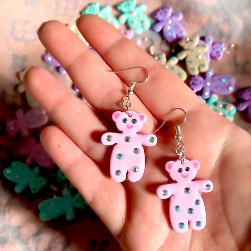 Mini pink teddies