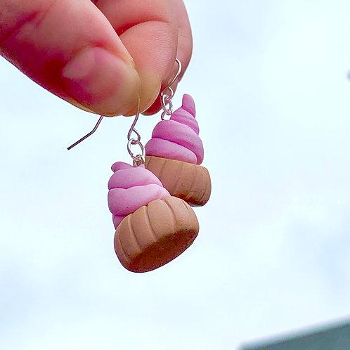 Pink iced gems