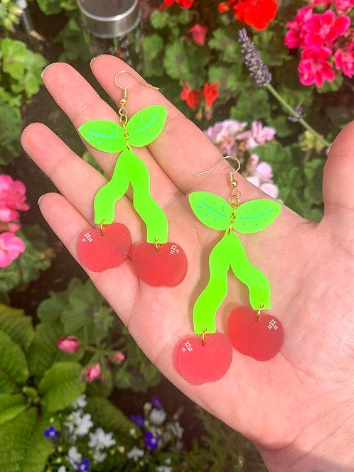 Wiggly cherries