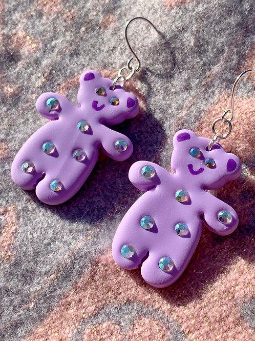 Mini purple teddies