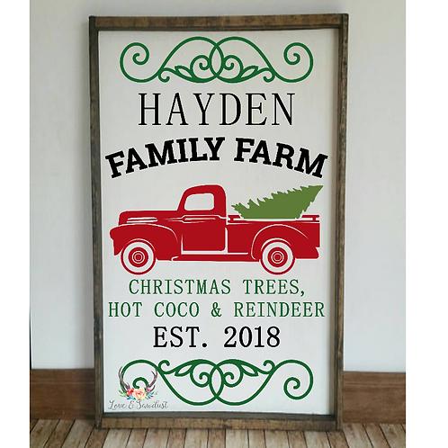 Christmas Family Farm