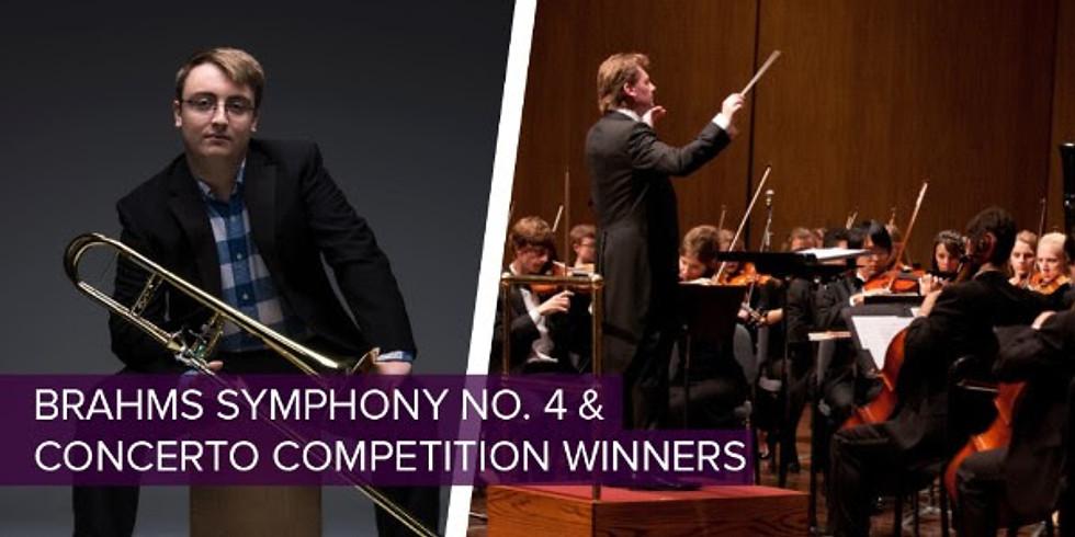 University of Kentucky Symphony Orchestra BRAHMS SYMPHONY NO. 4 & CONCERTO COMPETITION WINNERS