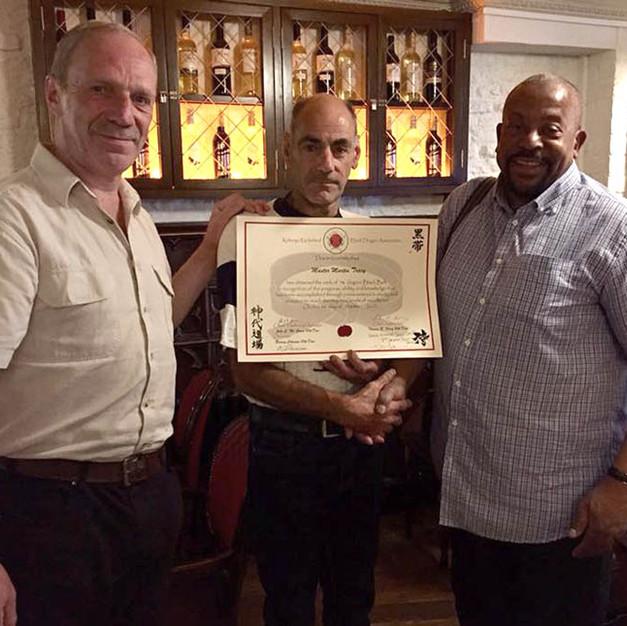 Martin Tracy, Tom Foley and Denis Davis.
