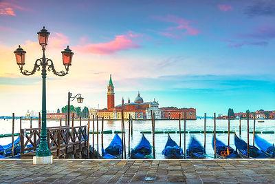 Venice, San Giorgio and Gondolas
