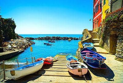 Boats in Riomaggiore 2