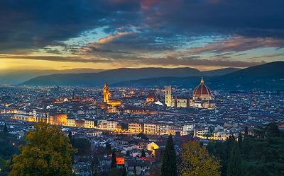 Firenze Panorama after Sunset