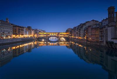 Ponte Vecchio Blue Hour