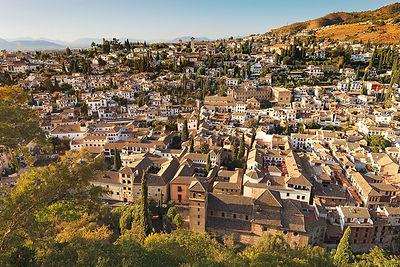 Granada, Albaicin district. Andalusia