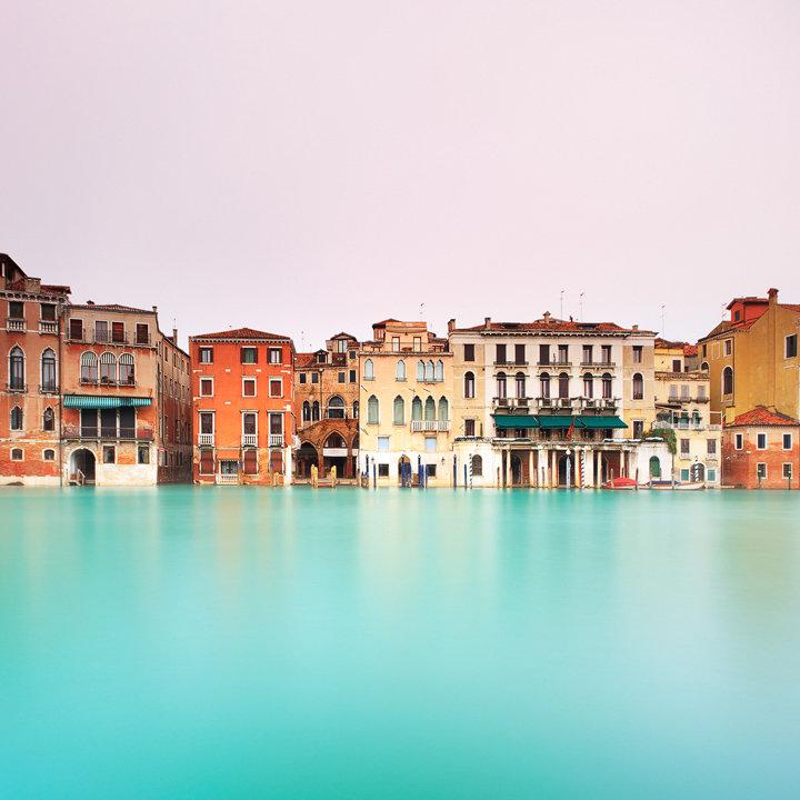 Venice, Grand Canal Long Exposure