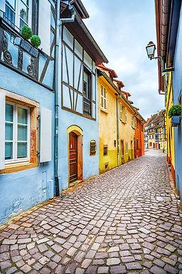 Street of Colmar, Alsace
