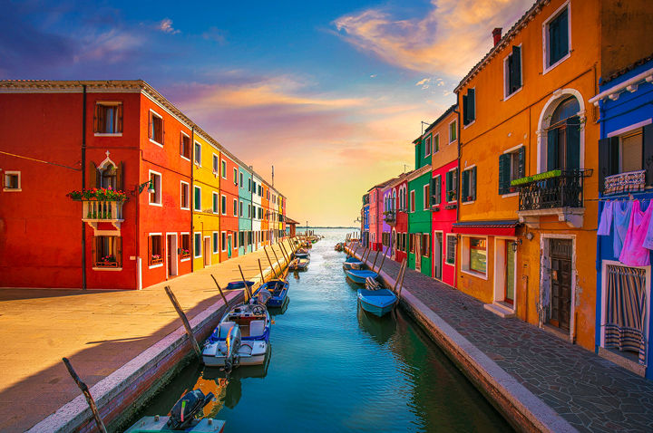 Burano Late Afternoon