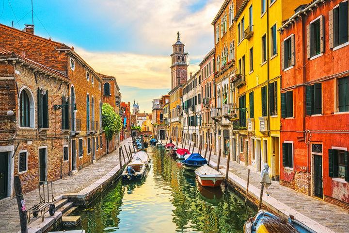 Venice, Rio San Barnaba