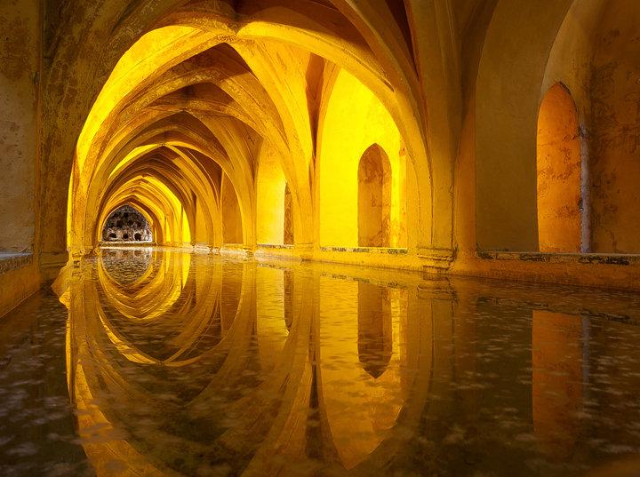 Alcazar Queen's Bath, Seville
