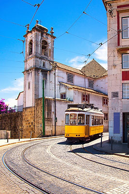 Lisbon Tramway, Alfama District
