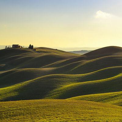 Rolling Hills in Crete Senesi