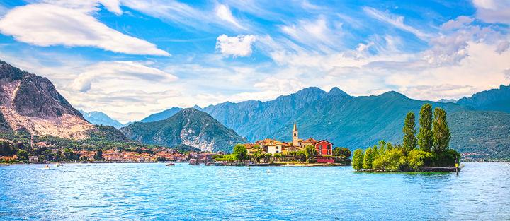 Isola dei Pescatori, Lake Maggiore