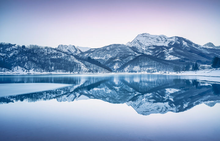 Reflections in the Lake of Gramolazzo
