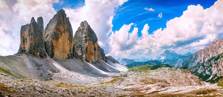 Tre Cime di Lavaredo Panoramic View
