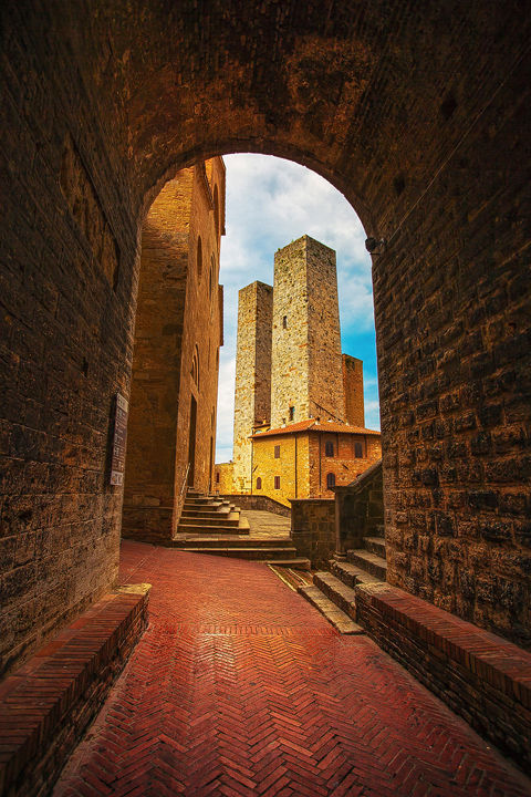 Medieval Towers in San Gimignano