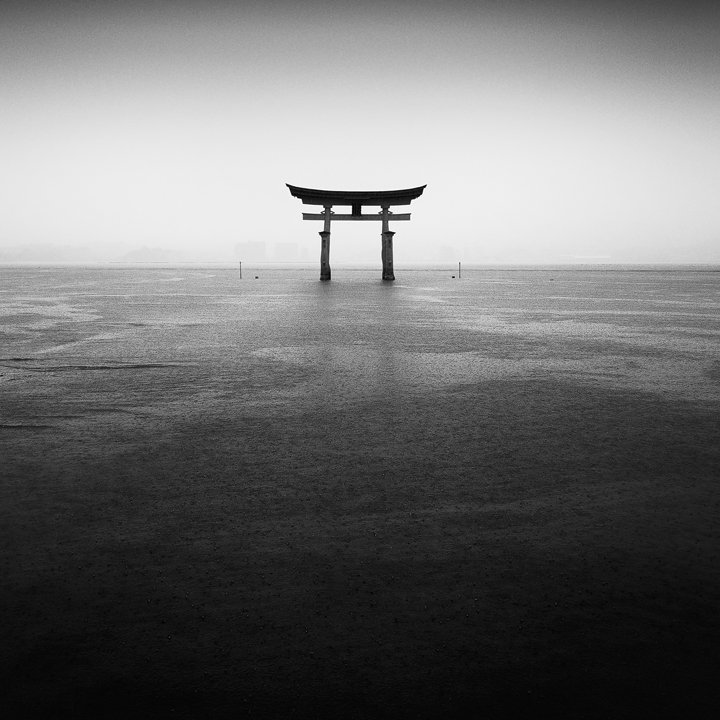 Itsukushima Torii Under the Rain (2010)