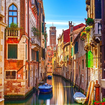 Water Canal in Venice