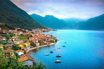 Lezzeno village, Lake of Como