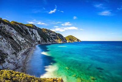 Sansone beach. Portoferraio, Elba island