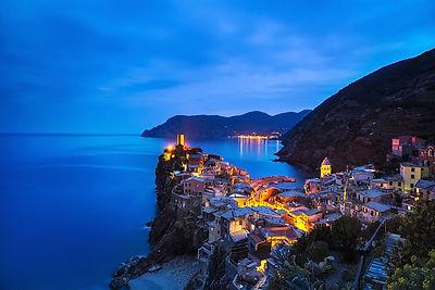 Vernazza, Blue Hour