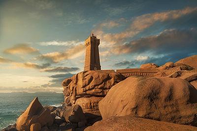 Ploumanac'h lighthouse, Brittany