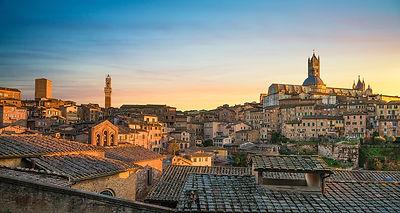 Siena Skyline at Sunset