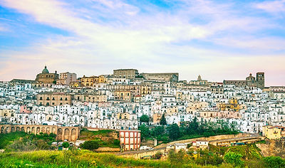 Ferrandina white town, Basilicata