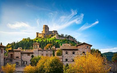 Rocca Maggiore fortress. Assisi