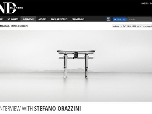 ND Magazine: interview with Stefano Orazzini
