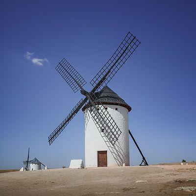 Windmill in Campo de Criptana, Spain